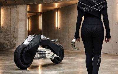 BMW Self Balancing Motorbike Demonstration Vision 100