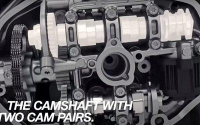 Il nuovo motore BMW Boxer a fasatura variabile.