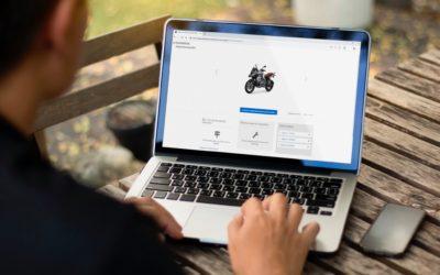 BMW Motorrad SBervice Check-in. Pochi clic per prenotare un intervento sulla tua moto.