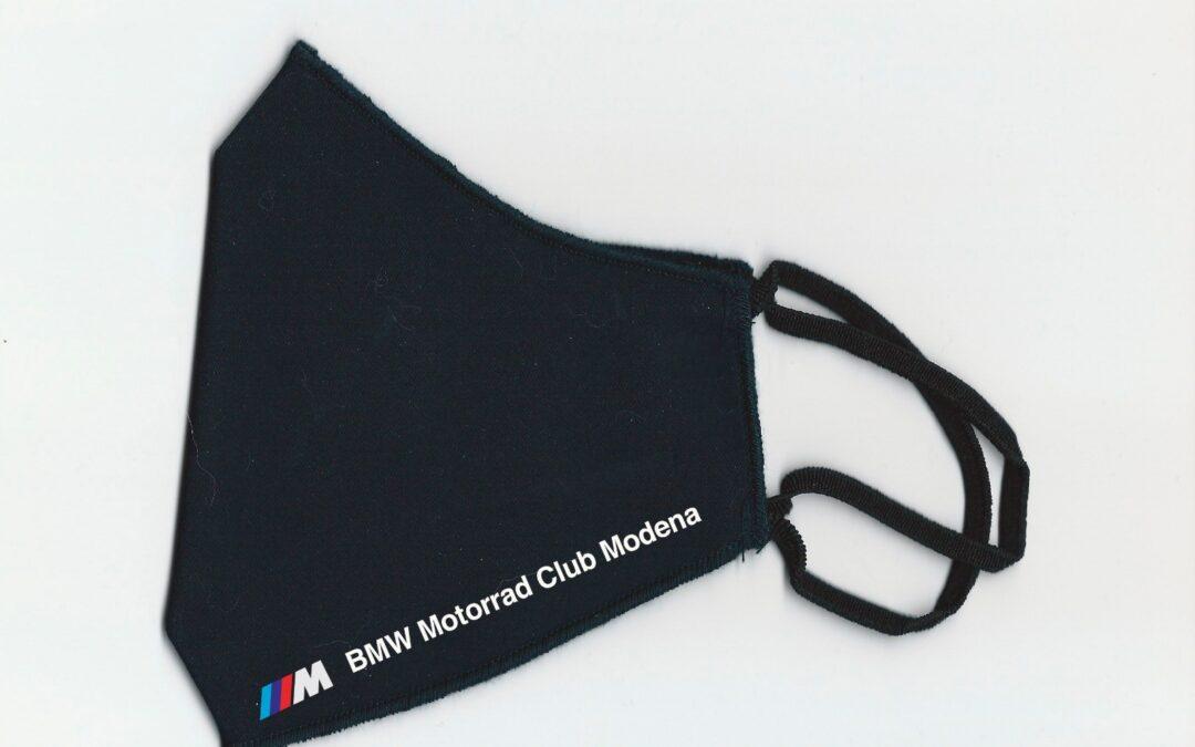 Noi pensiamo alla sicurezza dei nostri associati. In arrivo  la Mascherina personalizzata del BMW Club.