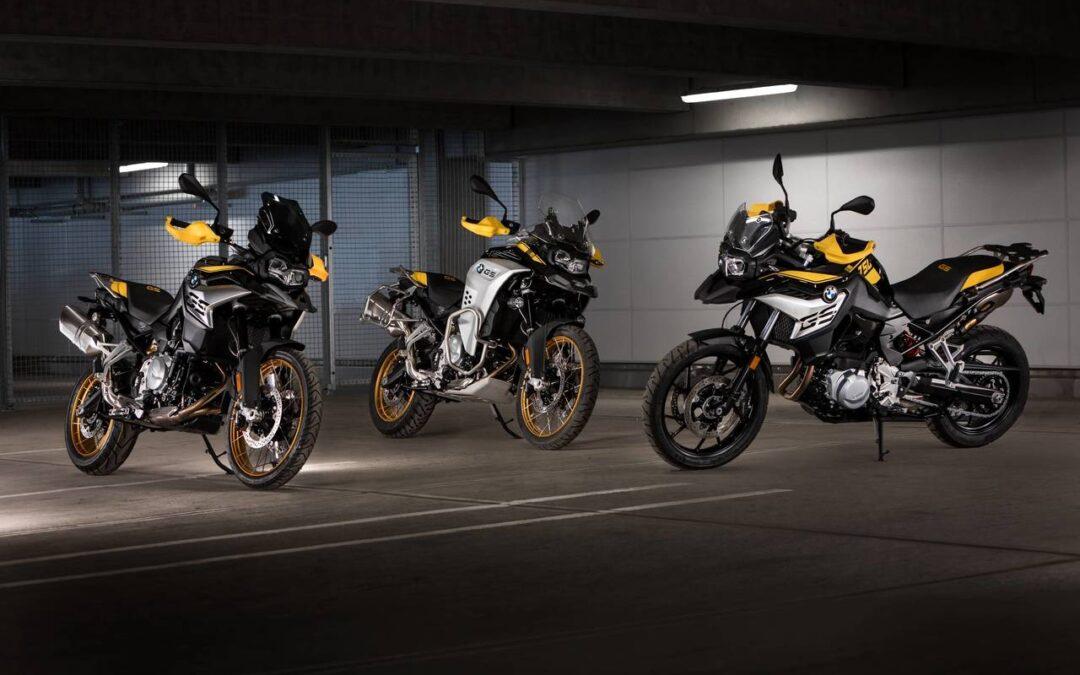 """BMW Motorrad nuove BMW F 750 GS, BMW F 850 GS e BMW F 850 GS Adventure MY 2021 ed in versione """"40 anni GS Edition"""""""