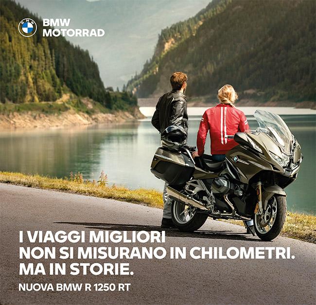 """13 Marzo """"Nuova BMW R 1250 RT fissa un appuntamento in concessionaria."""""""