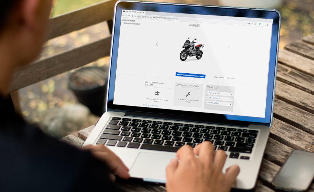 BMW Motorrad Service Check-in – Servizio online per prenotare qualsiasi servizio di manutenzione per la tua Moto oppure Scooter